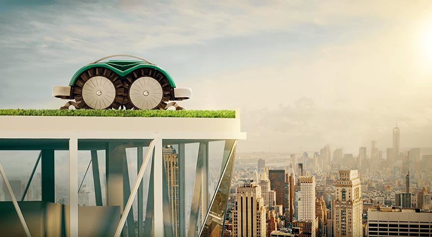 Ambrogio Robotic Lawn Mower Future